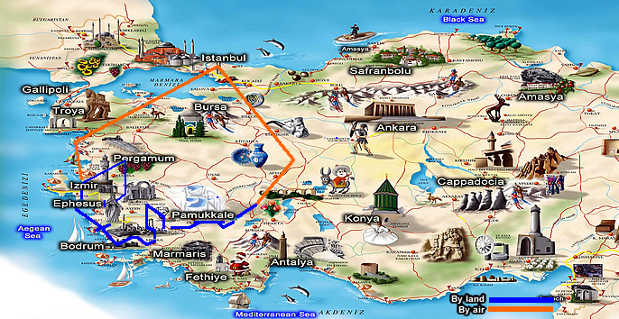 Encounter Turkey Offers Tours And Travel Packages To